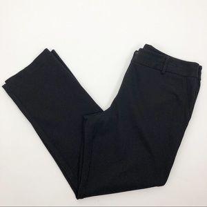 Chico's Black Ponte Knit Pants Size 2.5 Large